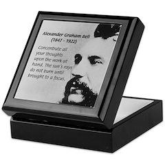 Alexander Graham Bell Keepsake Box