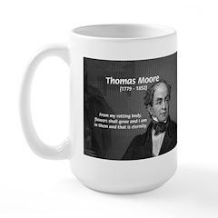 Eternal Poetry Thomas More Large Mug