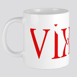 vixen red trans 20 oz Ceramic Mega Mug