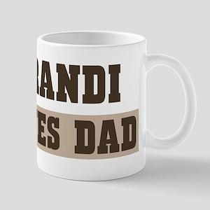 Brandi loves dad Mug