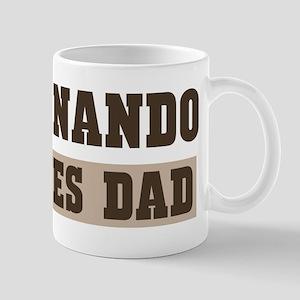 Fernando loves dad Mug