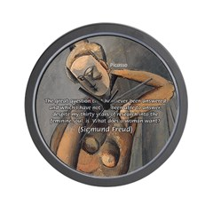 Freud Female Sexuality Wall Clock