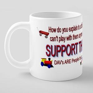 DAVs 20 oz Ceramic Mega Mug