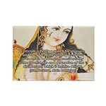 Sex Quote: Kama Sutra Art Rectangle Magnet