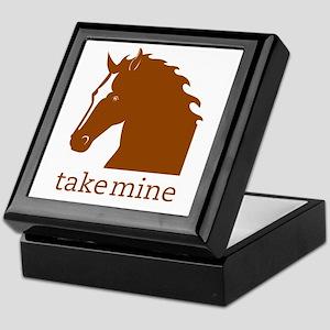 Take mine Keepsake Box