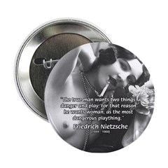 Desire for Women Neitzsche Button