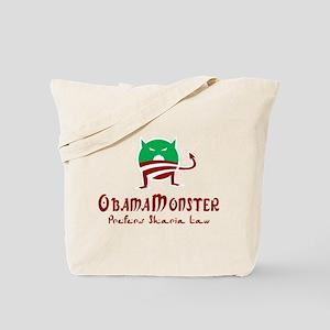 Obama Monster Sharia Tote Bag