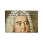 Handel's Messiah Rectangle Magnet