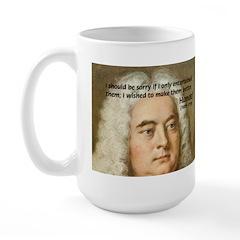 Handel's Messiah Large Mug