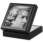 Music, Genius and Mozart Keepsake Box