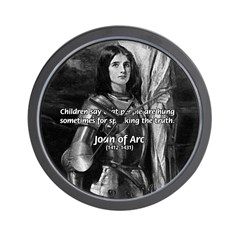 Heroine / Saint Joan of Arc Wall Clock