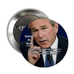 Terrorism George W. Bush Button
