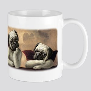 Angelic Pug Cherubs Mug