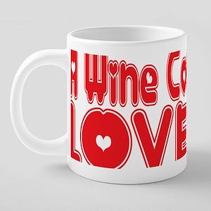 abc457 A Wine Connoisseur.p 20 oz Ceramic Mega Mug