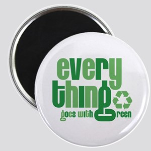 Everything Green Magnet