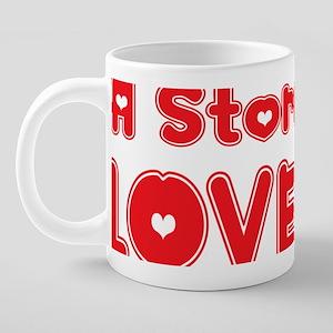abc560 A Storyteller 20 oz Ceramic Mega Mug