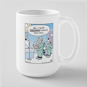 Cordless Baby Large Mug