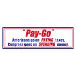 Pay-Go (Bumper Sticker 10 pk)
