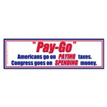 Pay-Go (Bumper Sticker)