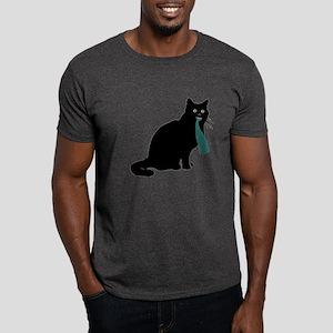 Cat w/ Whale Dark T-Shirt