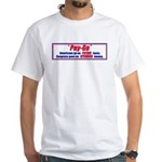 Pay-Go 2-sided White T-Shirt