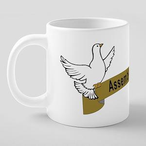 Assembly Of God 3 20 oz Ceramic Mega Mug