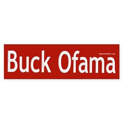 Buck Ofama Bumper Sticker (10 pk)