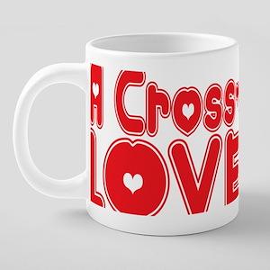 abc598 A Cross-stitcher 20 oz Ceramic Mega Mug