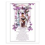 'Capricorn' Small Poster