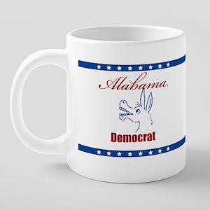 alabama democrat mug2 20 oz Ceramic Mega Mug