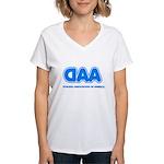 Dyslexia Association Women's V-Neck T-Shirt
