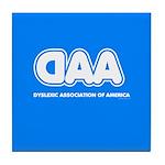 Dyslexia Association Tile Coaster