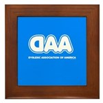 Dyslexia Association Framed Tile