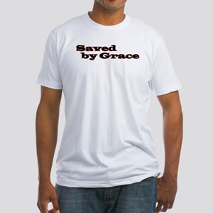 Saved By Grace Fitted T-Shirt