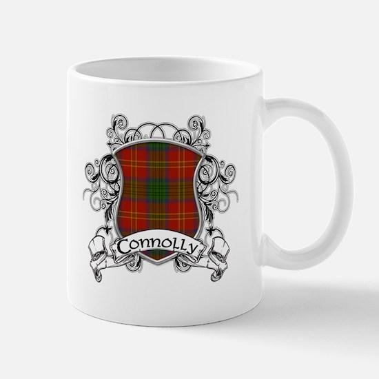 Connolly Tartan Shield Mug
