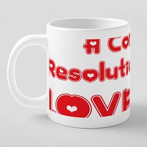 abc805 A Conflict Resolutio 20 oz Ceramic Mega Mug