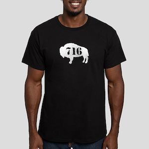 716 Men's Fitted T-Shirt (dark)