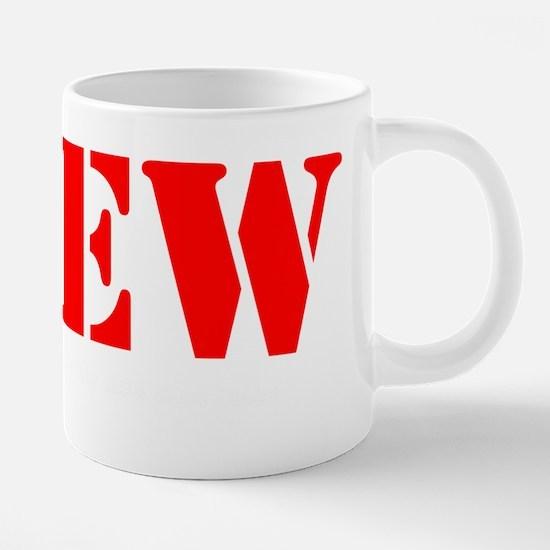 Profanity-shirt.png 20 oz Ceramic Mega Mug