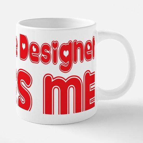 abc846 A Costume Designer.p 20 oz Ceramic Mega Mug