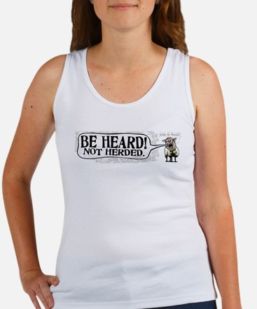 Be Heard Activist Protest Women's Tank Top