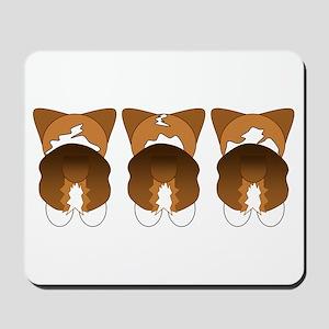 Tri Pembroke Mousepad