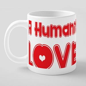 abc853 A Humanities Major.p 20 oz Ceramic Mega Mug