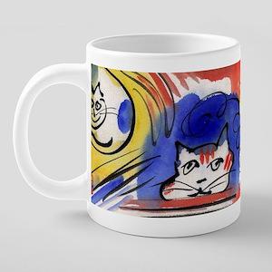 Style Cats 1-big-10 20 oz Ceramic Mega Mug