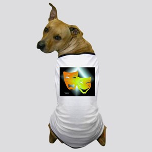 Tragedy & Comedy Dog T-Shirt