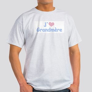 I Heart Grandmother French Light T-Shirt