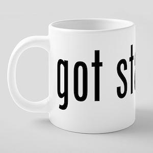 gotstamps_black 20 oz Ceramic Mega Mug