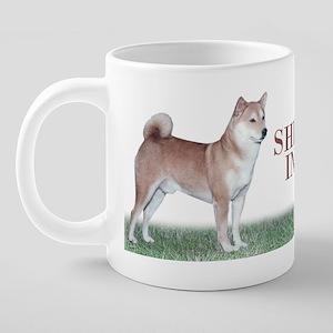 Shiba Inu Mug 20 oz Ceramic Mega Mug