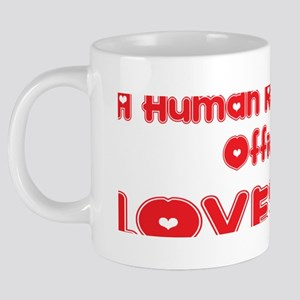 abc974 A Human Resources Of 20 oz Ceramic Mega Mug