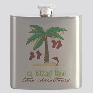 On Island Time Flask