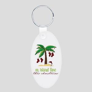 On Island Time Keychains